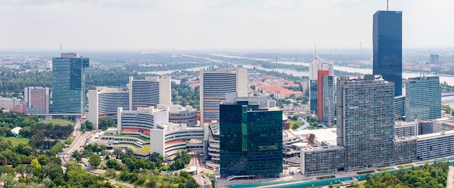 Sede de la ONU en Viena (Austria). Foto: Irekia